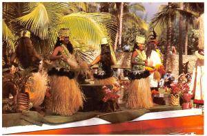 Tahitian Dancers - Laie Oahu, Hawaii