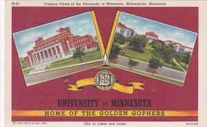 Minnesota Minneapolis Campus Views Of The University Of Minnesota Home Of The...