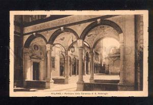 039488 ITALY Milano - Porticato della Canonica di S.