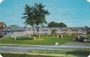 Canada Ontario Niagara Falls Motel 1958
