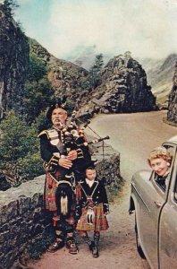 ARGYLLSHIRE, Scotland,1950-70s; A Piper In Glencoe