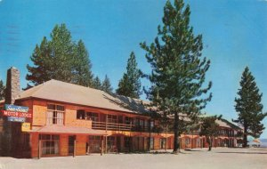 Postcard Sun N Sand Lodge Kings Beach Lake Tahoe California