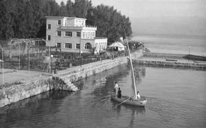 Israel - Galilee, Lido Restaurant and Beach    *RPPC