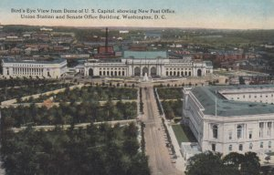 WASHINGTON D.C., 1900-10s; Bird's Eye View from Dome of U.S. Capitol