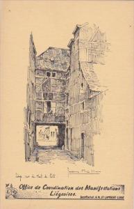 Belgium Liege Rue du Mont de Piete