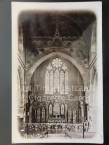 Warwickshire: Rugby Parish Church Interior RP Old PC