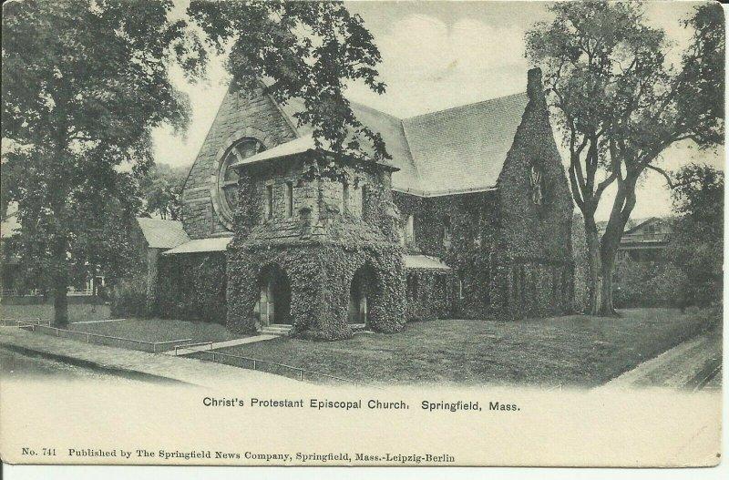 Springfield, Mass., Christ's Protestant Episcopal Church