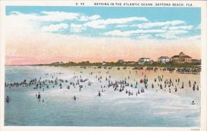 Florida Daytona Beach Bathing In The Atlantic Ocean