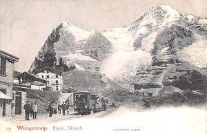 Wengernalp Eiger Monch Switzerland Unused