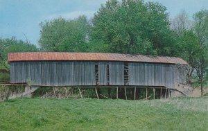 Cloverdale, Putnam County IN, Indiana - Sharpe Covered Bridge over Mill Creek