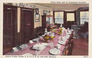 Michigan Irish Hills Dining Room Used By Stagecoach Travellers
