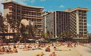 Hawaii Honolulu Waikiki Beach 1975