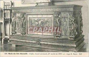 Old Postcard Musee des Arts Decoratifs Safe Normand work (2nd Moitie sixteent...