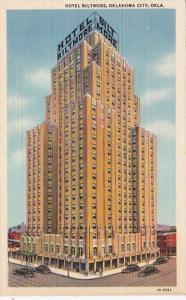 Oklahoma Oklahoma City Hotel Biltmore Curteich