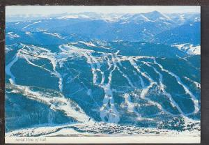 Aerial View of Vail CO Postcard BIN