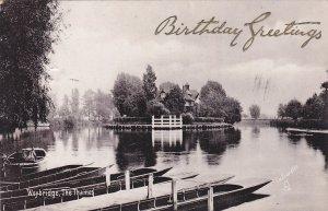 WEYBRIDGE , England , 00-10s ; The Thames ; TUCK 1952