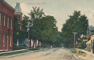 Honeoye Falls NY, New York - Laundry on right side - DPO 1909 - DB