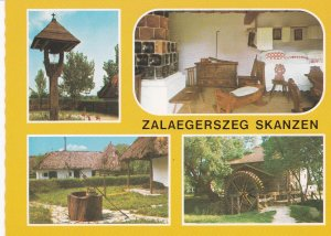POSTAL B8568: BUDAPEST: ZALAEGERSZEG