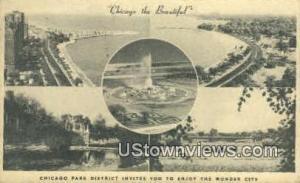 Chicago Park District Chicago IL 1948