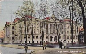 High School Syracuse New York 1911