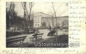 Library & Van Vost Park Jersey City NJ 1906