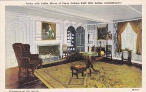 Massachusetts Salem Parlor With Buffet House Of Seven Gables