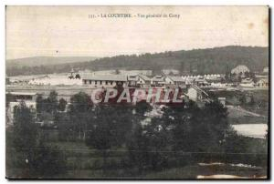 Old Postcard The camp curtain general view
