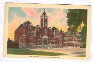 Manitoba Law School, Winnipeg, Manitoba, Canada, 20-40s