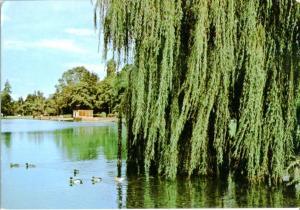 Postal 016750: SITTARD Holland - Vista del Lago de la ciudad de Sittatd
