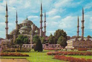 Turkey Istanbul The Mosque Of Sultan Ahmet