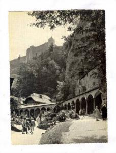 Salzburg, Erzabtei St Peter, Austria, 40-50s