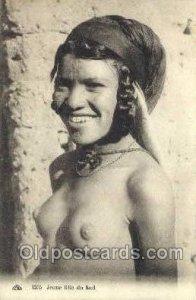 Jeune fille du sud Arab Nude Unused