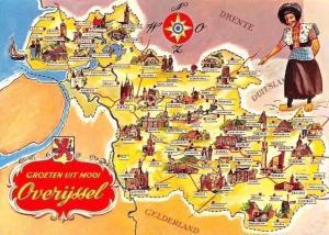 Netherlands Groeten uit Mooi Overijssel Map, Drente