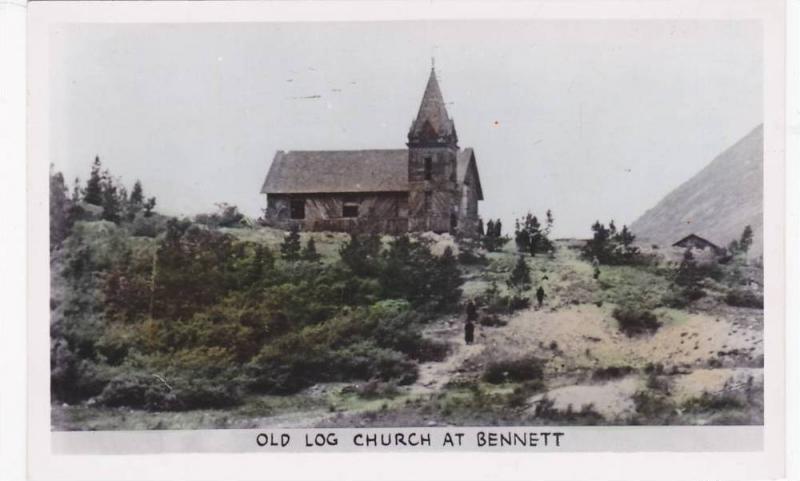 RP, Old Log Church At Bennett, British Columbia, Canada, 1920-1940s
