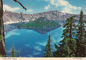Wizard Island Crater Lake Oregon 1973