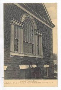 Exterior, Palladian Window, Dunkard Church, Built 1897, Germantown, Pennsylva...