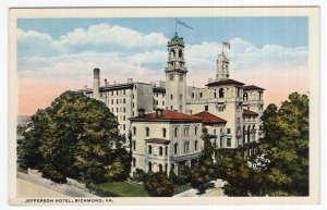 Richmond, Va, Jefferson Hotel