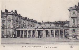 France Palais de Compiegne Facade principale