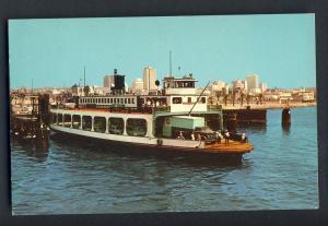San Diego, Calif/CA Postcard, Coronado Ferry, 1969!