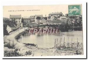 Creuse La Courtine Old Postcard Lake Gratadous