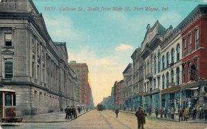 USA Calhoun St. South from Main St Fort Wayne Indiana 03.31