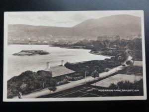 Isle of Man: Mooragh Park, Ramsey, Old Postcard