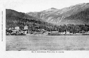 AK - Ketchikan, First City in Alaska