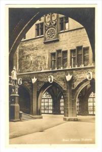 RP, Hofpartie, Rathaus, Basel, Switzerland, 1920-1940s