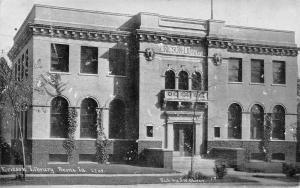 Boone Iowa~Ericson Library~Bluesky CU Williams Photoette 1909