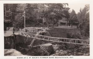 RP, C. W. Mack's Summer Home, Belfountain, Ontario, Canada, 30-40s #10