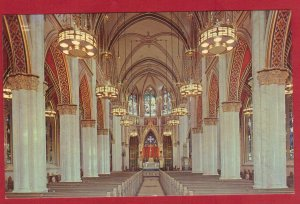INTERIOR OF CATHEDRAL OF ST. HELENA. HELENA , MONTANA  SEE SCAN  PC77
