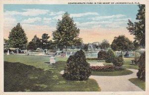 JACKSONVILLE, Florida, 1900-1910's; Confederate Park