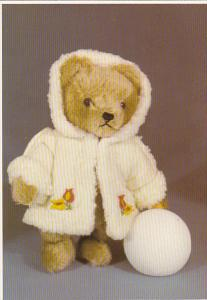 Gold Mohair Teddy Bear Manufactured by Hermann