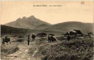 CPA  Mont-Pilat - Les Trois Dents  (487462)